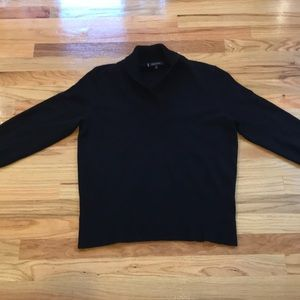 Anne Klein Cashmere black sweater Sz XL